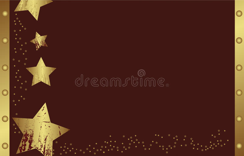 Download Abstract Golden Christmas Star Stock Vector - Image: 11887881