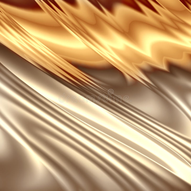 Abstract golden composition vector illustration
