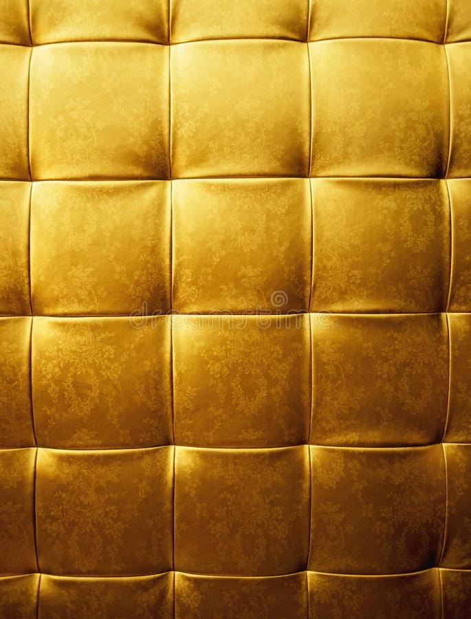 Abstract golden fabric texture royalty free stock photos