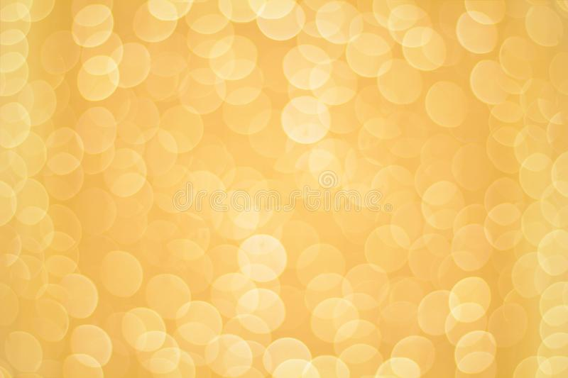 Abstract golden festive blurred background royalty free stock images
