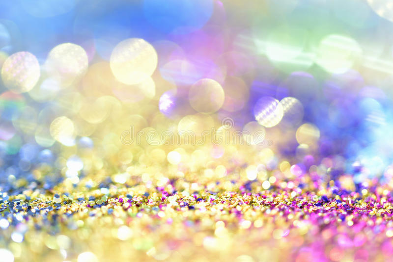 Abstract Golden Light Bokeh Background Gold royalty free stock image