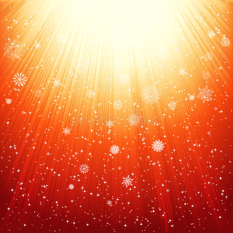 Abstract golden shiny background. stock photo