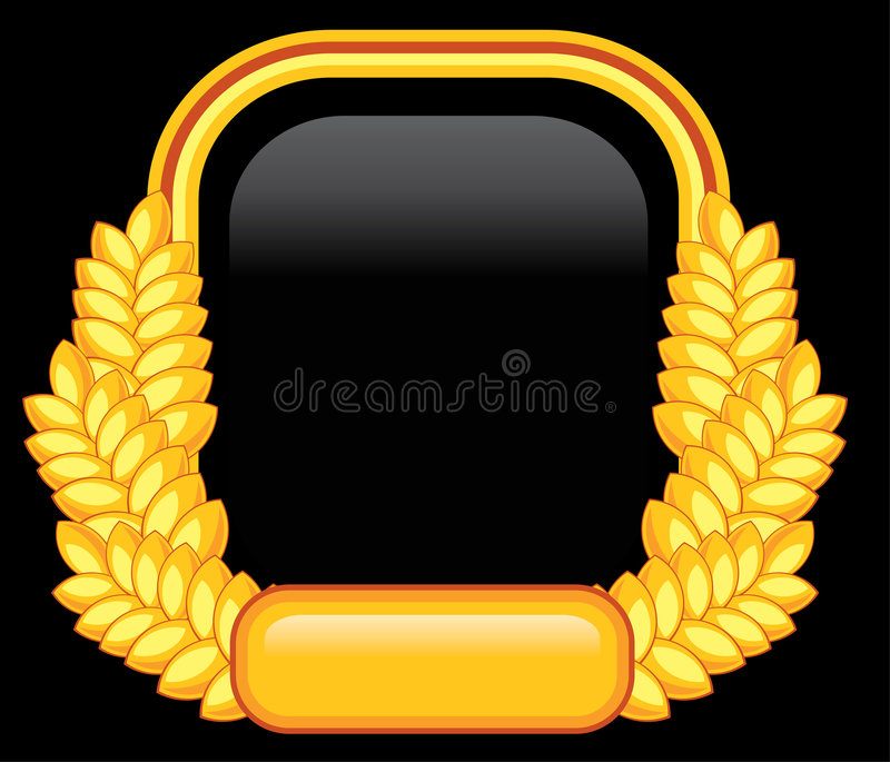 Download Abstract golden wheat 2 stock vector. Image of artistic - 8871195