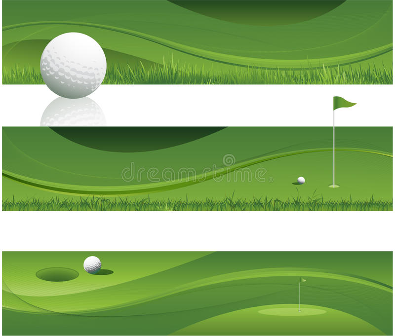 Download Abstract golf background stock vector. Image of freshness - 24371879