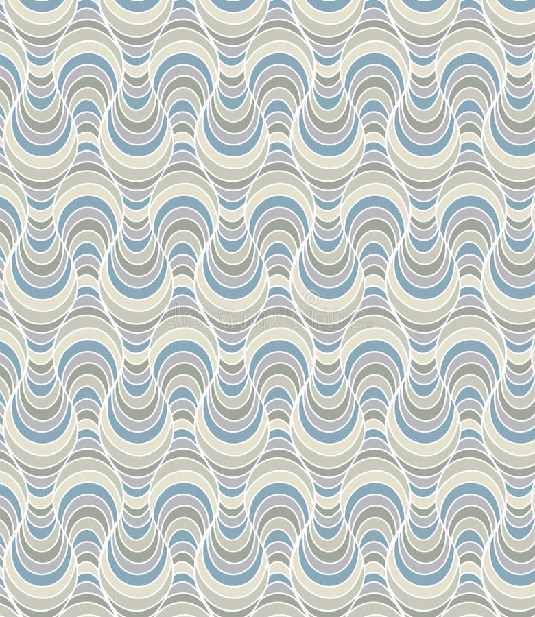 Golvend patroon vector illustratie
