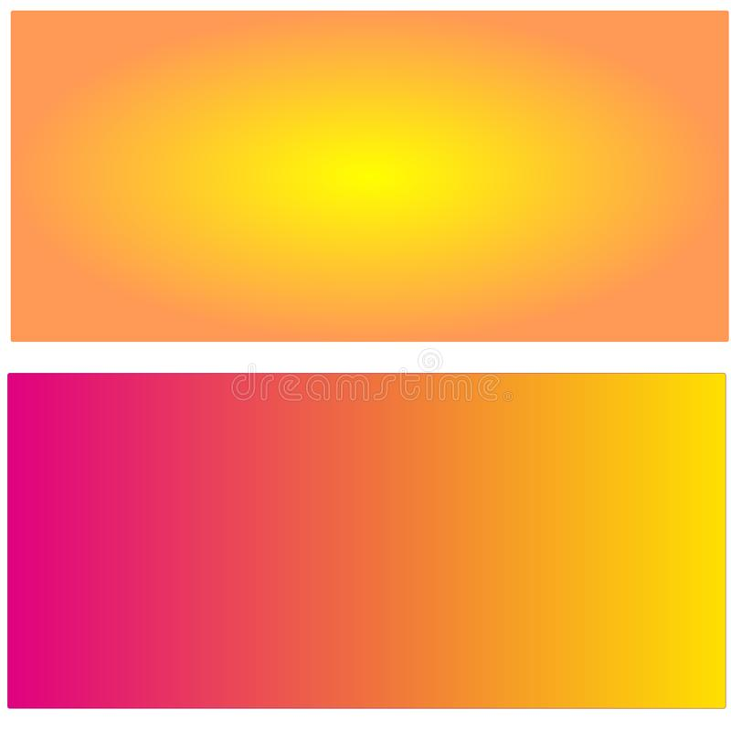 Abstract Gradiëntbehang in vector royalty-vrije stock afbeelding