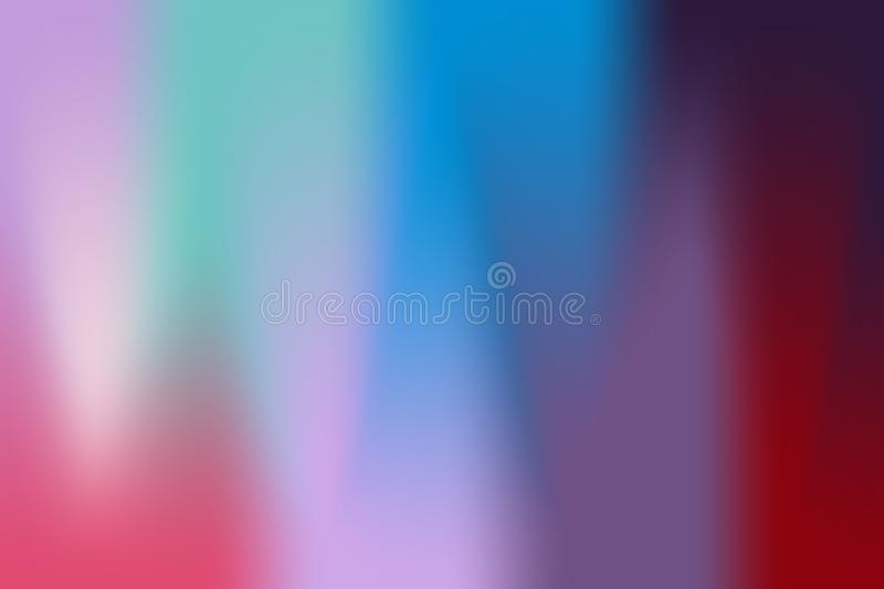 Abstract gradient. The background of several colors flow into a wave gradient stock illustration