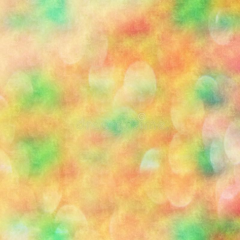 Abstract gradient blurred background with bokeh effect vector illustration