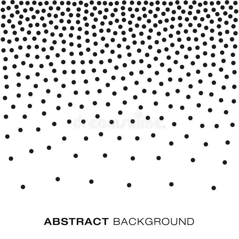 abstract gradient halftone random dots background  a4 size  vector illustration  backdrop using