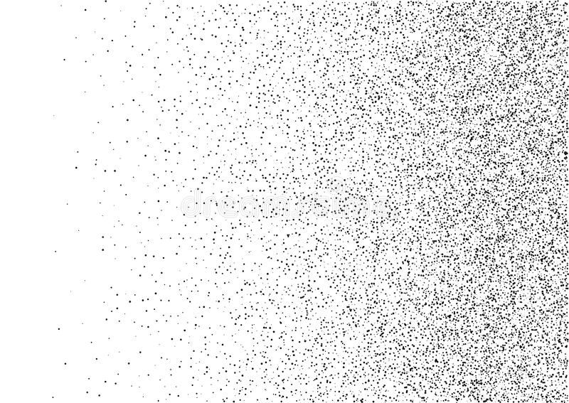 Abstract gradient halftone random dots background. A4 size, vector illustration, backdrop using halftone dot pattern. vector illustration