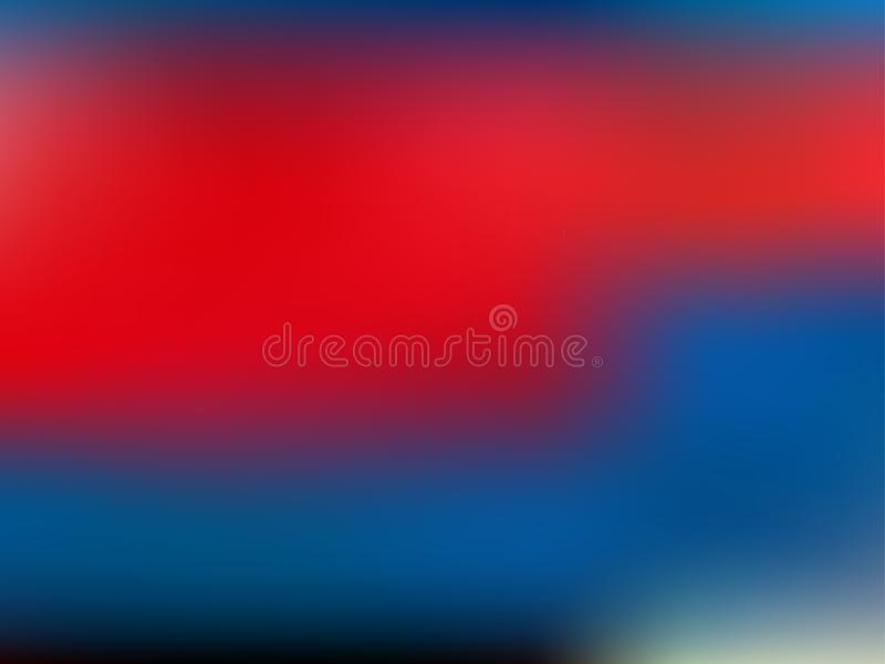 Abstract gradient mesh background in colors. Smooth banner template. Vector illustration in EPS10 stock illustration
