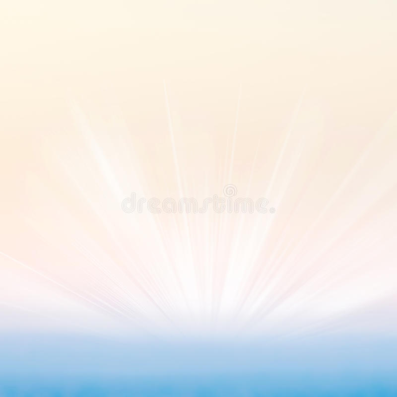 Abstract gradient textured background with sun light burst. Typo royalty free stock photos