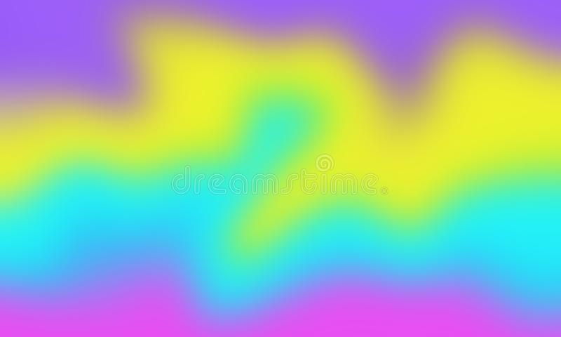 Abstract gradients waves vector illustration