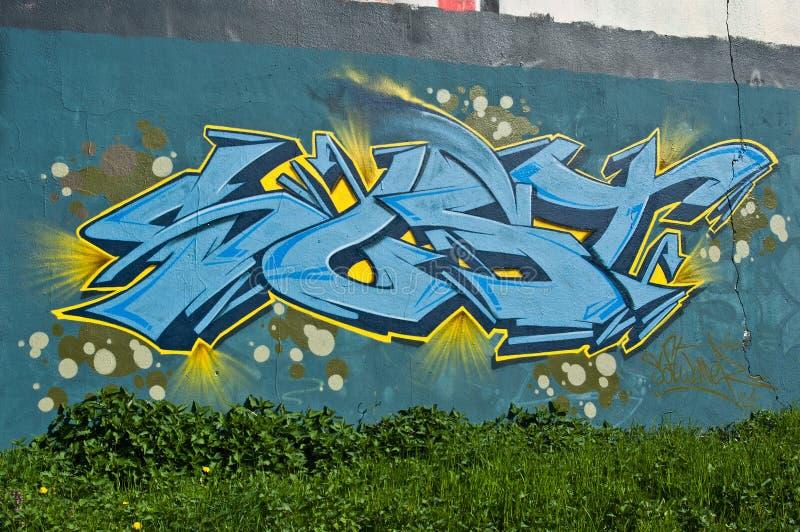 Abstract Graffiti royalty free stock photos