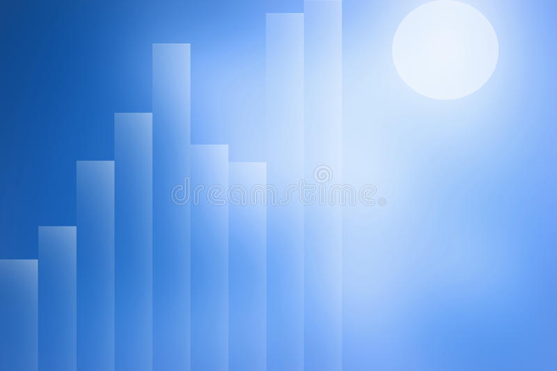 The abstract graphic stock illustration