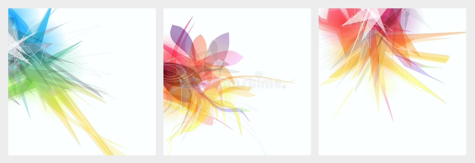 Abstract graphic background stock illustration