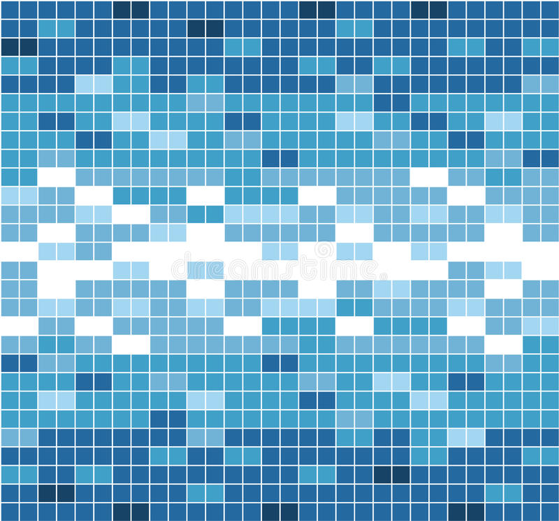 Abstract Graphic square color. Seamless mosaic pattern. stock illustration