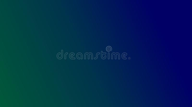 Abstract Grass green navy blue color mixture multi colors effects Background. stock illustration