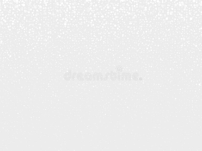 Abstract gray background with dots stock illustration