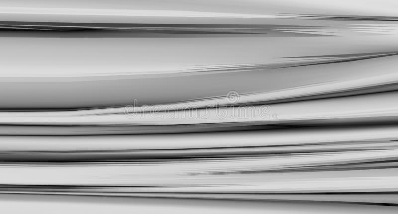 Abstract gray background of silk with folds. Stylish wallpaper. stock images