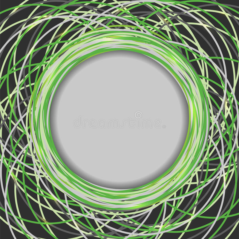 Abstract background with lines royalty free illustration