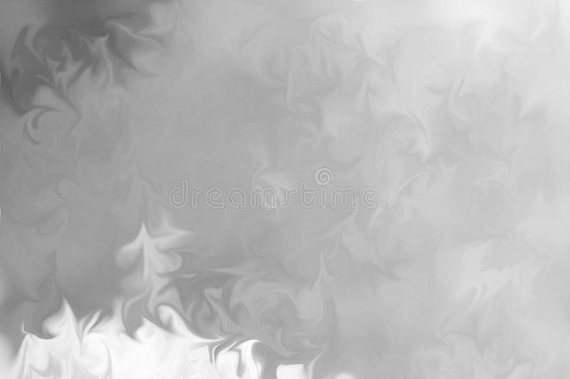 Abstract Gray Black and White Marble Ink Pattern Background. Liquify Abstract Pattern With Black, White, Grey Graphics Color Art. Form stock photo