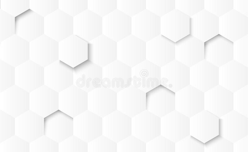 Abstract gray gradient geometric shapes on white background with shadow. vector illustration
