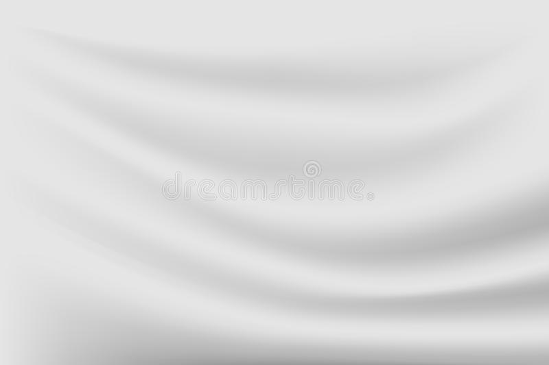 abstract gray luxury texture silk background and cloth wave, can be used for luxurious Christmas and wallpaper of your product vector illustration