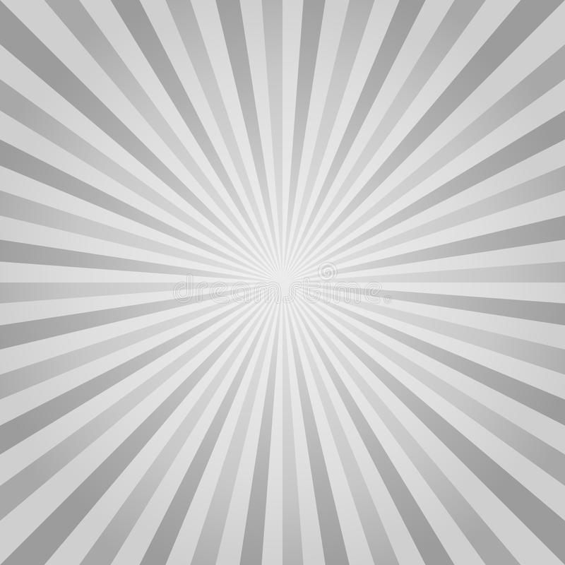 Abstract Gray rays background. Vector EPS 10 cmyk royalty free illustration
