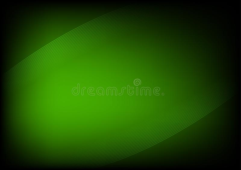 Abstract green background. Is a general illustration vector illustration
