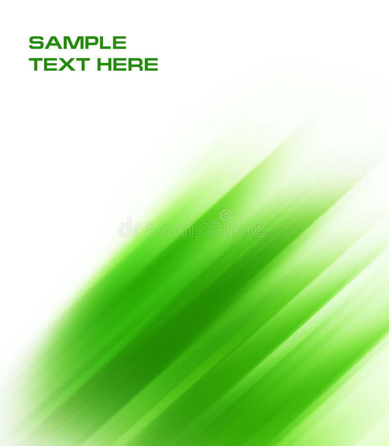 Abstract green background. With copyspace