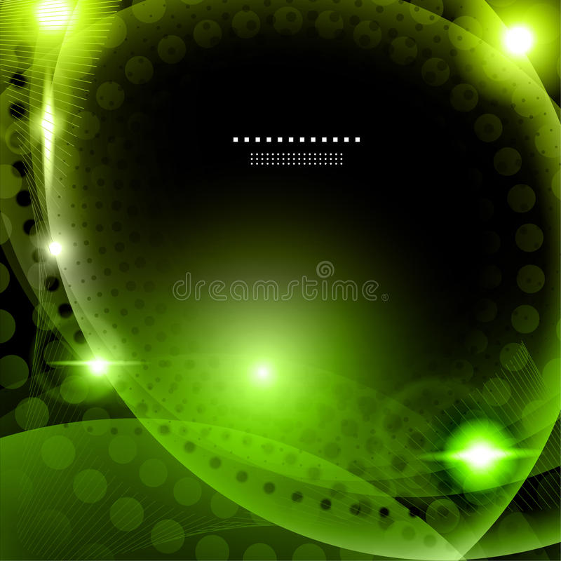 Download Abstract green background stock vector. Image of party - 31989837