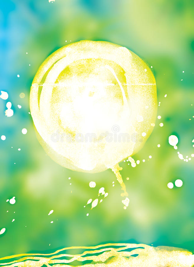 Abstract green background. royalty free stock image