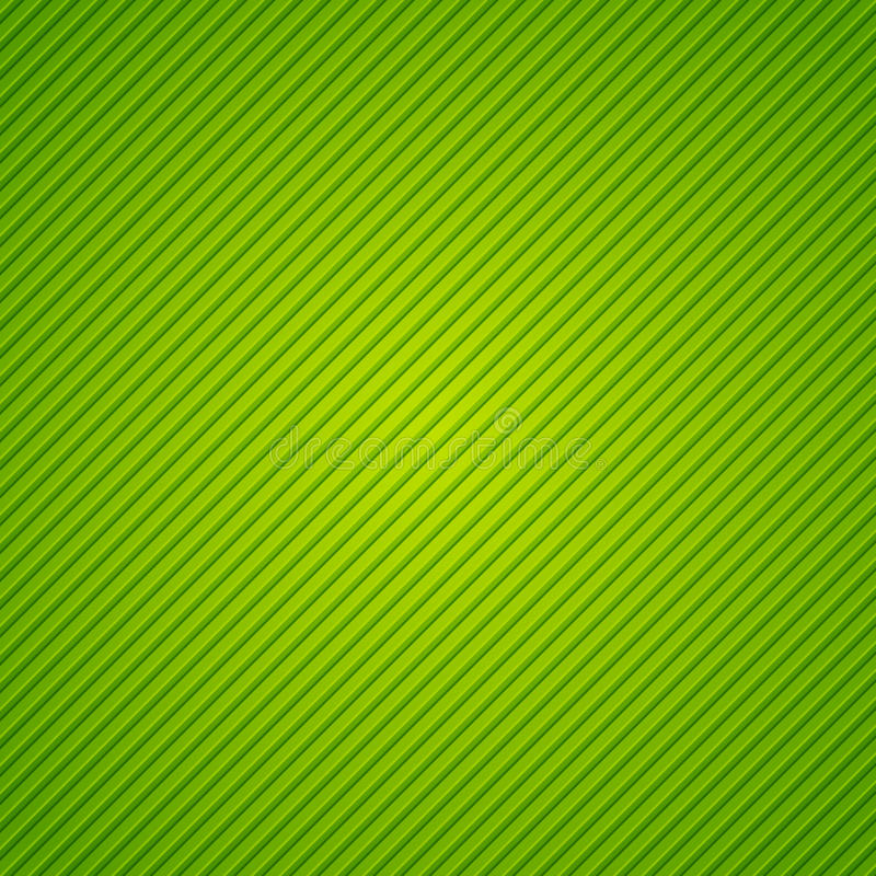 Abstract green background with stripes. Abstract green background with diagonal stripes vector illustration