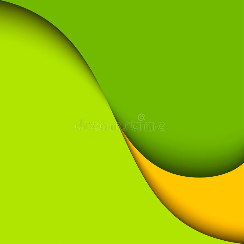 Abstract green background. Vector design royalty free illustration