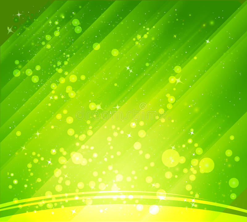 Abstract green backgrounds royalty free illustration