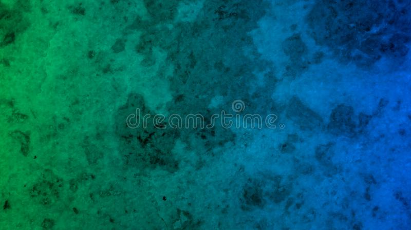 Abstract green blue color mixture marble texture background wallpaper royalty free illustration