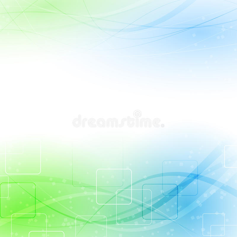 Abstract green blue particle wind. Vector illustration vector illustration