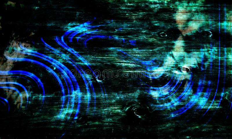 Abstract green and blue shaded textured background with lighting effects. wallpaper. royalty free stock photo