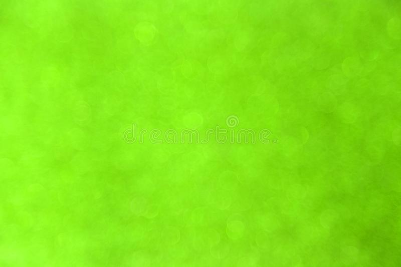 Abstract green bokeh background for christmas, Celebration concept. stock photos