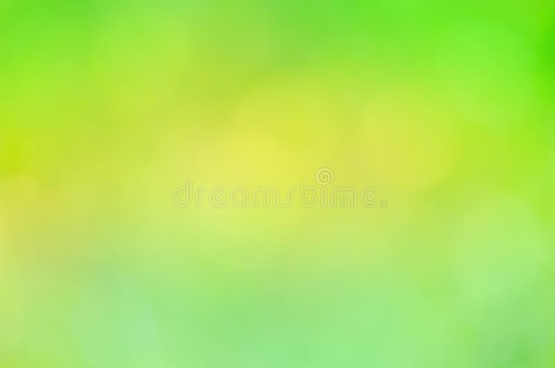 Bokeh in green natural background. royalty free stock photos