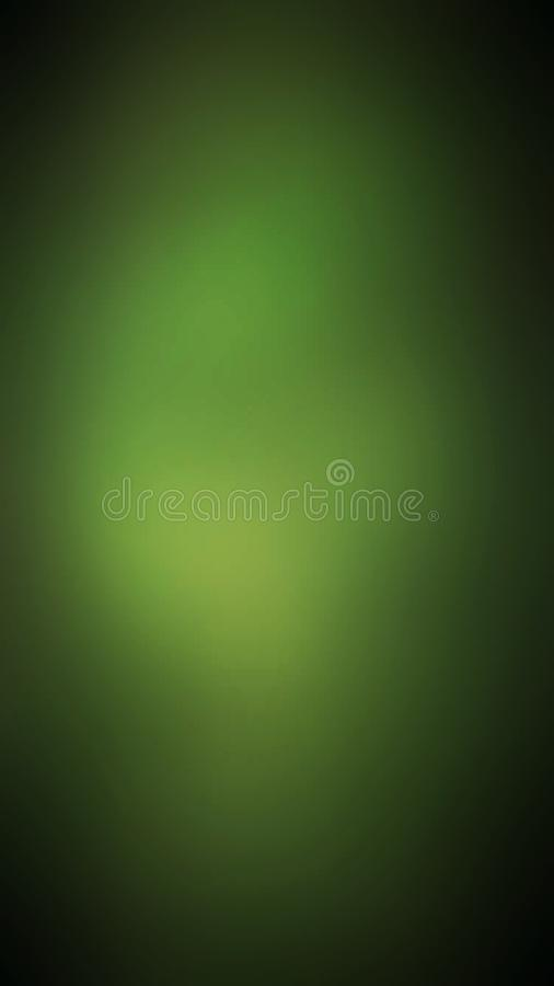 Abstract green bright blur background stock illustration
