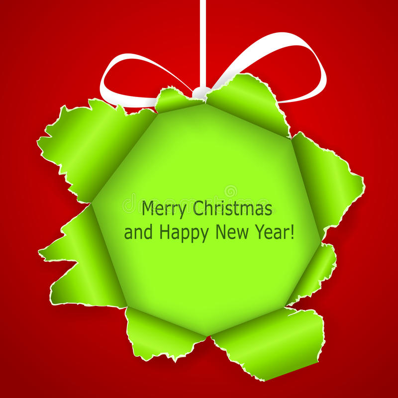 Download Abstract Green Christmas Ball Royalty Free Stock Photos - Image: 27533458