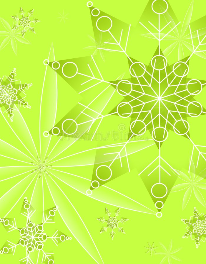 Download Abstract Green Christmas Pattern Stock Illustration - Image: 3696766