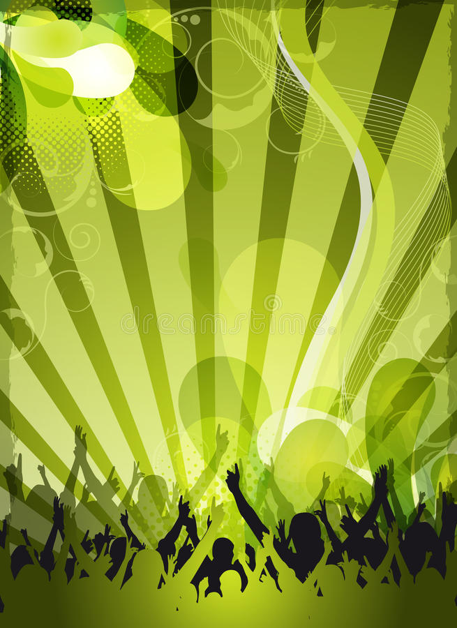 Download Abstract Green Event Design Stock Illustration - Image: 24154428