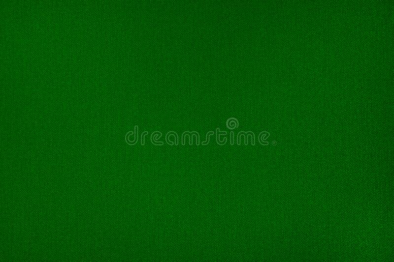 Abstract, green fabric background stock image