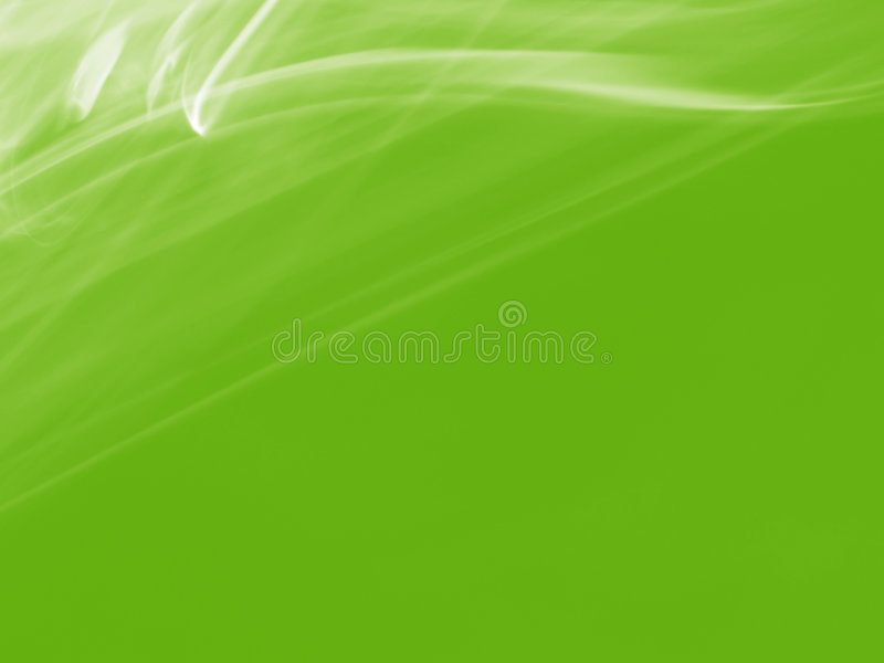 Abstract Green Floral Background royalty free illustration
