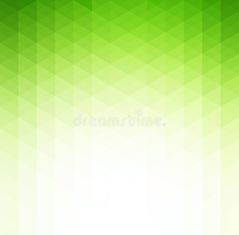Abstract green geometric technology background stock illustration