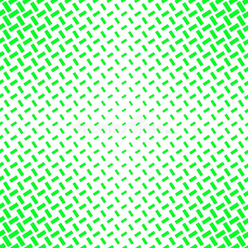 Abstract green halftone pattern background from lines royalty free illustration