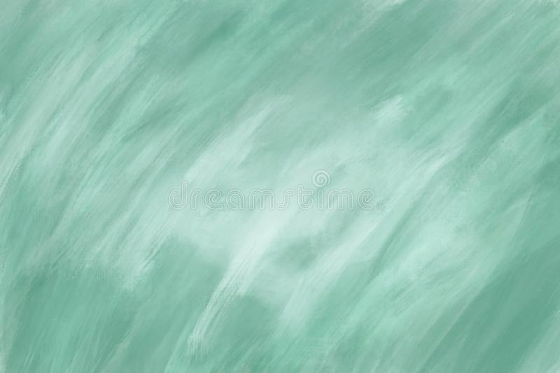 Abstract green oil paint texture on canvas, background. stock photos